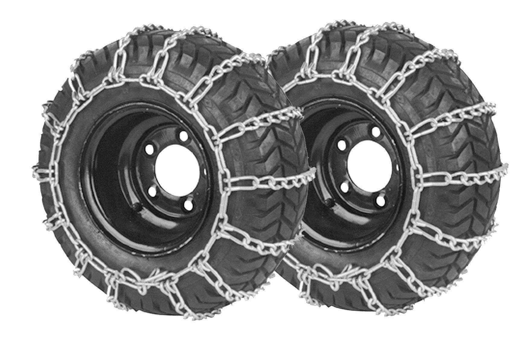 Stens 180-428 2 Link Tire Chain, Black by Stens