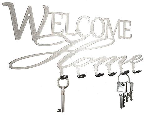 Tabla/Colgador de llaves * Welcome Home * - Llave Tarjeta ...