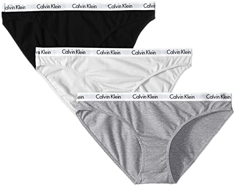Calvin Klein Cotton Bikini Underwear (3-Pack) at Amazon Women s ... f68939e6c