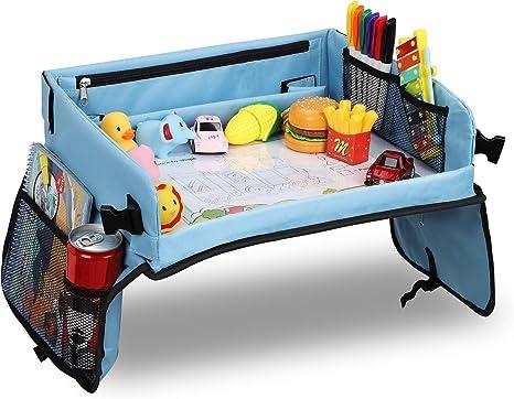 Bandeja coche LOORI, Mesa coche para niños, Bandeja de viaje ...