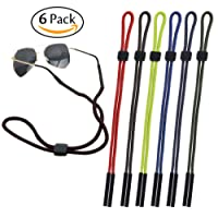 CandyHome 6 Pcs Sunglass Holder Strap Unisex for Sports and Outdoor Activities