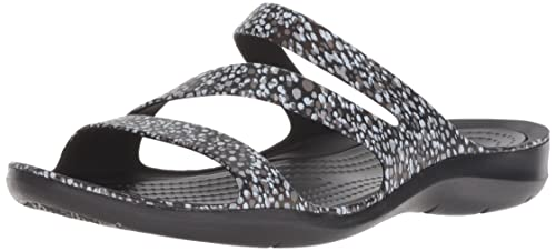 9951811beb2572 crocs Women s Swiftwater Graphic Sandal W Fashion  Buy Online at Low ...