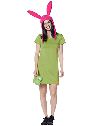 c40e04e1101 Amazon.com  Spirit Halloween Adult Louise Costume - Bob s Burgers ...