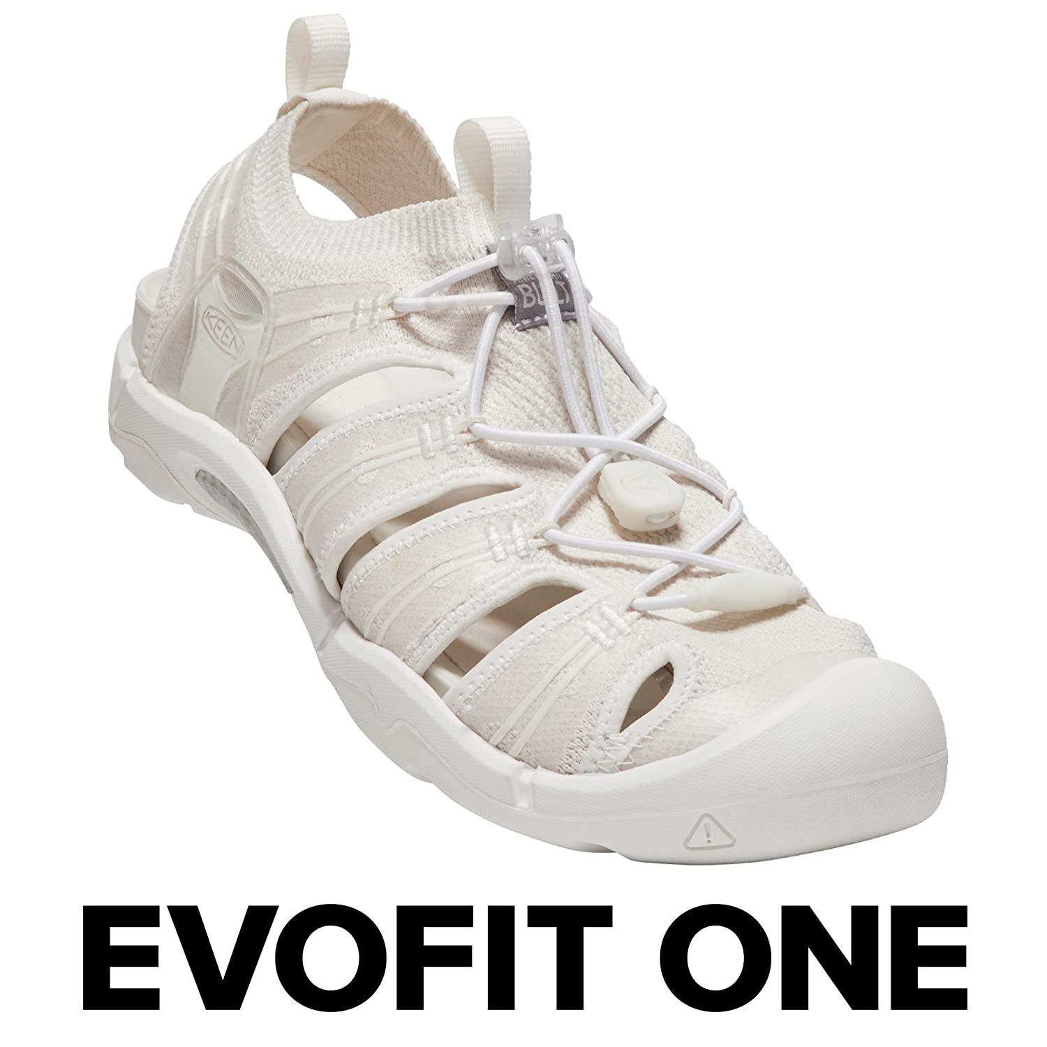 KEEN Women's EVOFIT ONE Water Sandal for Outdoor Adventures B0721DBKWV 7 M US|Triple White