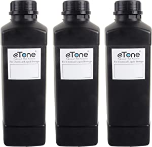 3X 1000ml Darkroom Chemical Storage Bottles Film Photo Developing Processing 1L