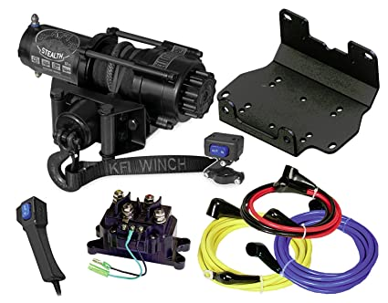 amazon com kfi combo kit se35 stealth winch winch mount 2016 rh amazon com
