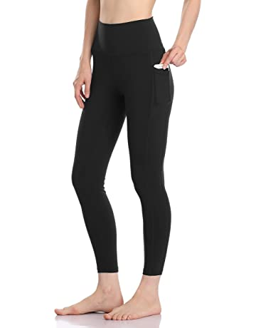 4dacd2d3da2ee Colorfulkoala Women's High Waisted Yoga Pants 7/8 Length Leggings with  Pockets