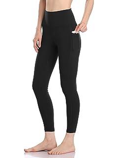 4eaac4a85c Colorfulkoala Women's High Waisted Yoga Pants 7/8 Length Leggings with  Pockets