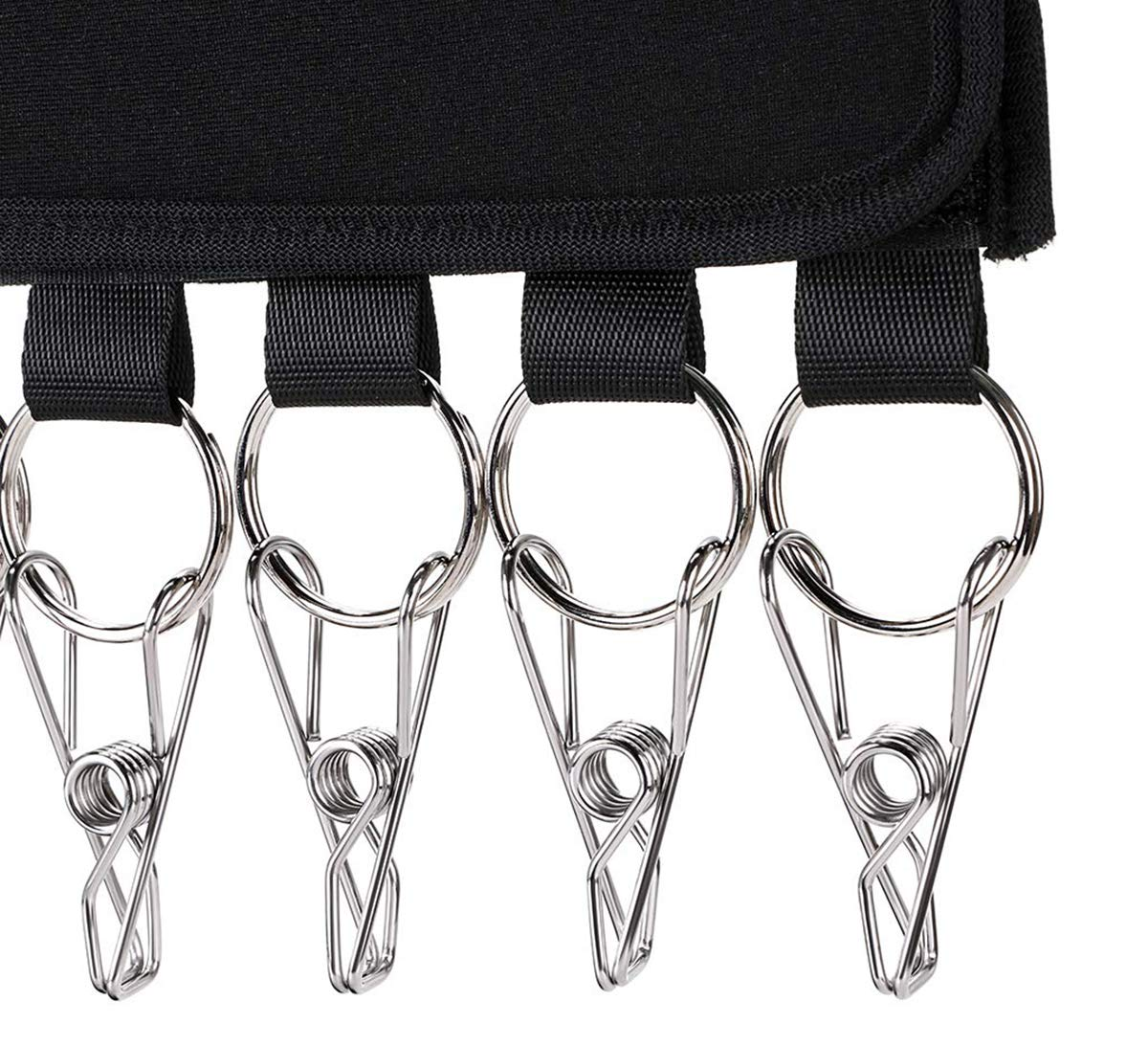 Cap Organizer Holder for Closet with Stainless Steel Clips AllGoodWare 3 Pcs Hat Organizer Hanger