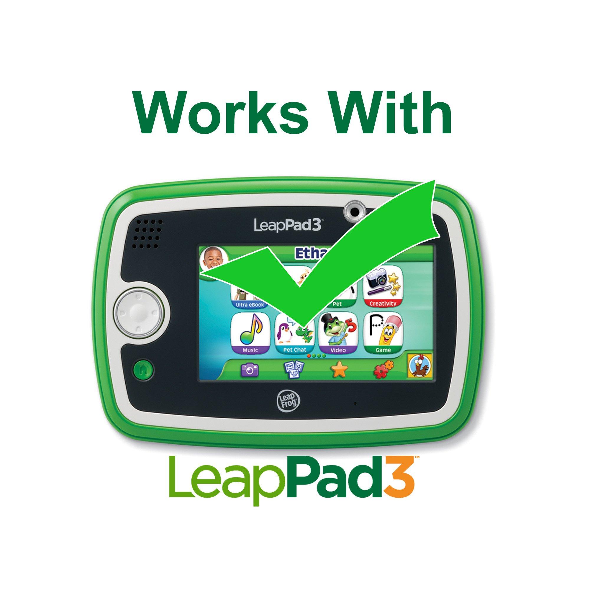 LeapFrog LeapFrog LeapPad3 Gel Skin, Purple (made to fit LeapPad3) by LeapFrog (Image #5)