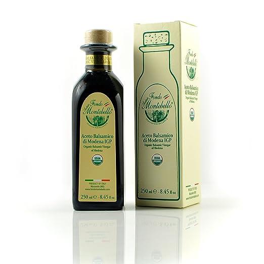 Amazon.com : Organic Balsamic Vinegar of Modena P.G.I (250ML / 8.45 ...
