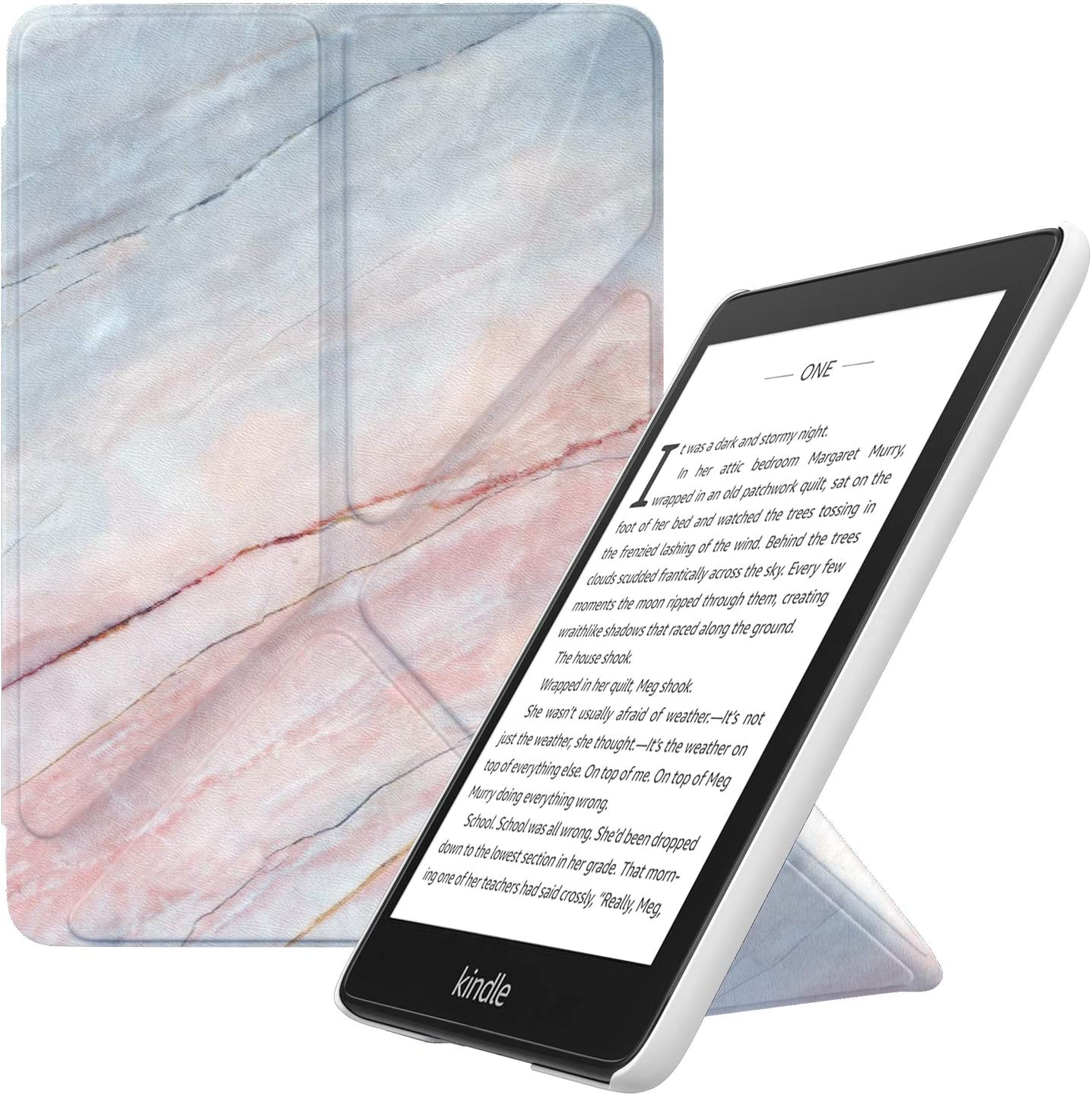 MoKo /Étui de Protection pour Kindle Paperwhite 10/ème g/én/ération,mod/èle 2018 /étui Origami Mince et l/éger avec Auto R/éveil//Veille pour Kindle Paperwhite 2018 Violet