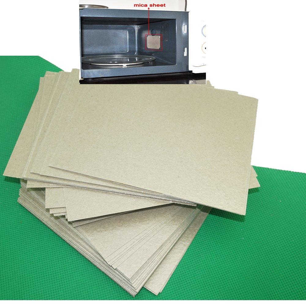 4pcs Microwave Oven Repairing Part Mica Plates Sheets Waveguide Cover 15cm x 12cm