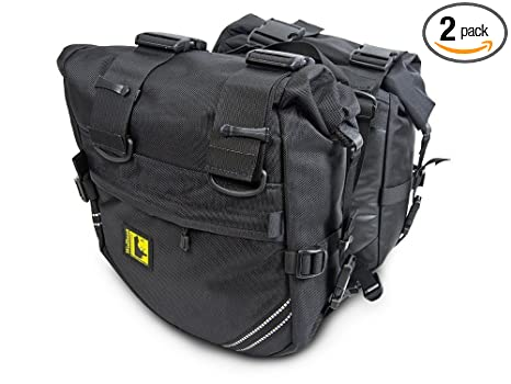 Amazon.com: Wolfman Enduro seco bolsas de bolsas de Saddle ...