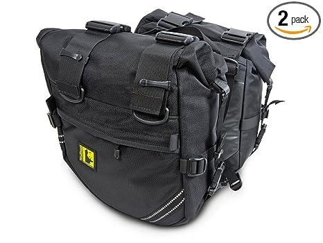Amazon.com: Wolfman Enduro seco bolsas de bolsas de Saddle ...