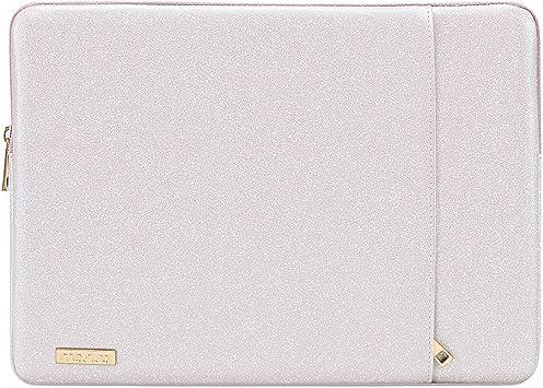 MOSISO Funda Protectora Compatible con 13-13.3 Pulgadas MacBook Pro Retina/MacBook Air/Surface Laptop 2 2018 2017/Surface Book,PU Estuche Acolchado de Estilo Vertical Bolsa Impermeable,Rosa Claro: Amazon.es: Electrónica