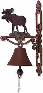 Sunset Vista Designs Wilderness Wonders Moose Bell, 14-Inch Tall