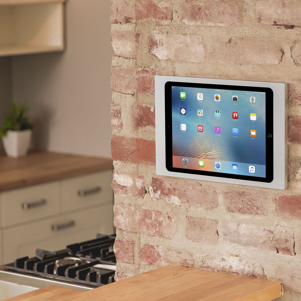 iPort 70735 Surface Mount System (Bezel for iPad Mini, 2 and Mini 3- Silver and PoE Splitter) by iPort (Image #2)