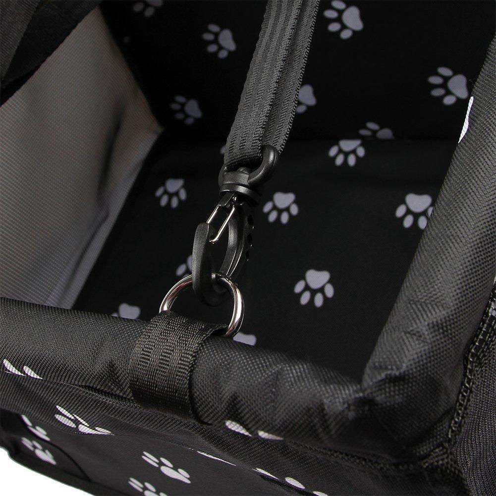 HomeYoo Animale Vettore Borsa per Cani Pieghevole Coperta telo per proteggere sedile di automobile per animali domestici,coprisedile antiscivolo blu Coprisedile per cane coprisedile anteriore