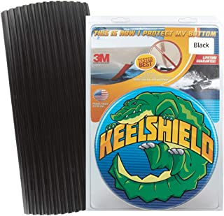 product image for Gator Guards KeelShield Keel Guard - Helps Prevent Damage, Scars and Scratches - DIY Installation - Compatible with Fiberglass and Most Aluminum Boats - Made in The USA - 4' to 12' Lengths