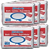 First Quality Total Care IB Adult Briefs, Medium, 16 Count (Pack of 6