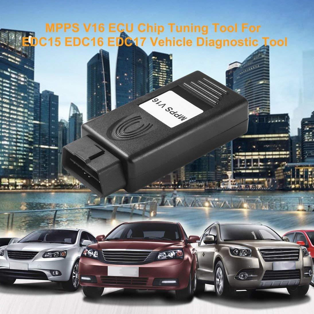 ToGames-IT Strumento di Tuning Chip ECU MPPS V16 per EDC15 EDC16 Strumento diagnostico Veicolo EDC17