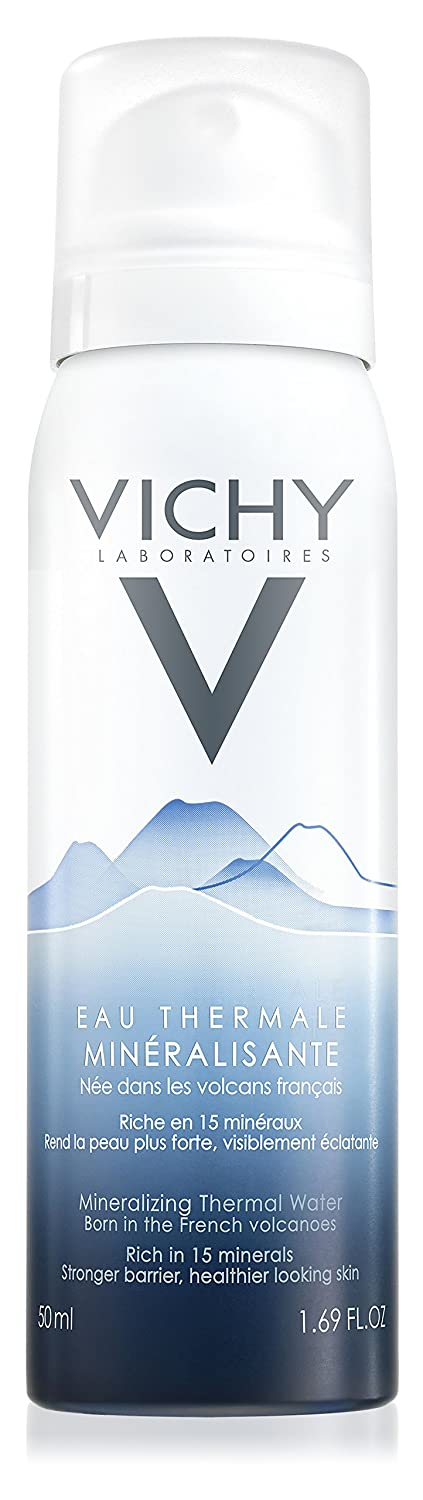 Vichy Mineralizing Thermal Water Rich in 15 Minerals, 1.69 Fl. Oz