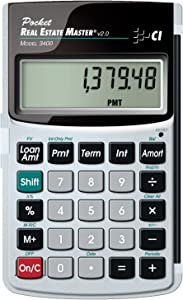Calculated Industries 3400 Pocket Real Estate Master Financial Calculator