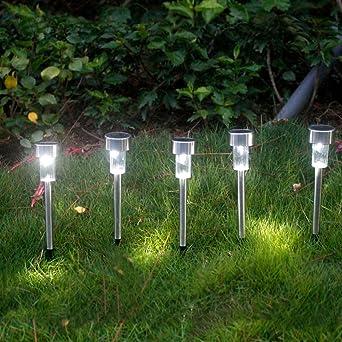 NORDSD - Juego de luces solares para jardín (3 unidades): Amazon.es: Iluminación