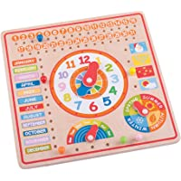 Bigjigs Toys Calendario, Orologio Giorni e Mesi