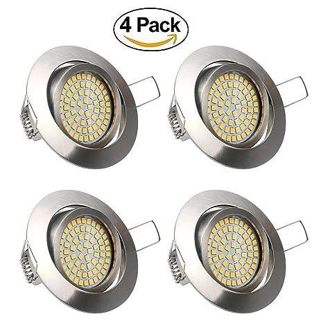LED Focos Empotrables Luz de Techo 3.5W LED Extraplano Downlight ...