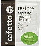 RESTORE DESCALER Decalcifier Decalcify Espresso Coffee Machine Cleaner 1 Sachet