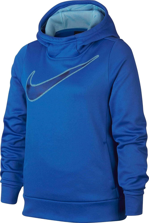 Signal bleu S Nike Therma Shine Sweat à Capuche pour Fille