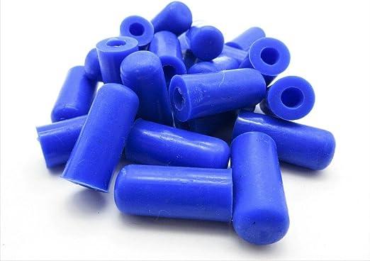 """découpage 5//32/"""" Silicone Vacuum Caps 3//16/"""" masquant tubes Caps noir 4.7-5mm"""