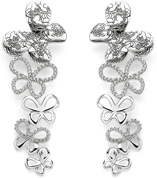 1e073e5ff3df Pendientes para mujer joyas Comete mariposa bonita modelo hora 103 ...
