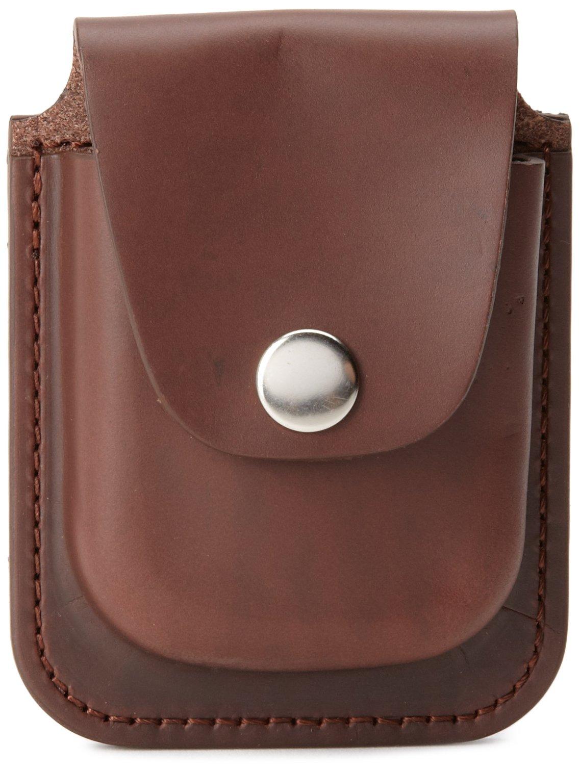 Charles-Hubert, Paris 3572-5 Brown Leather 56mm Pocket Watch Holder by CHARLES-HUBERT PARIS