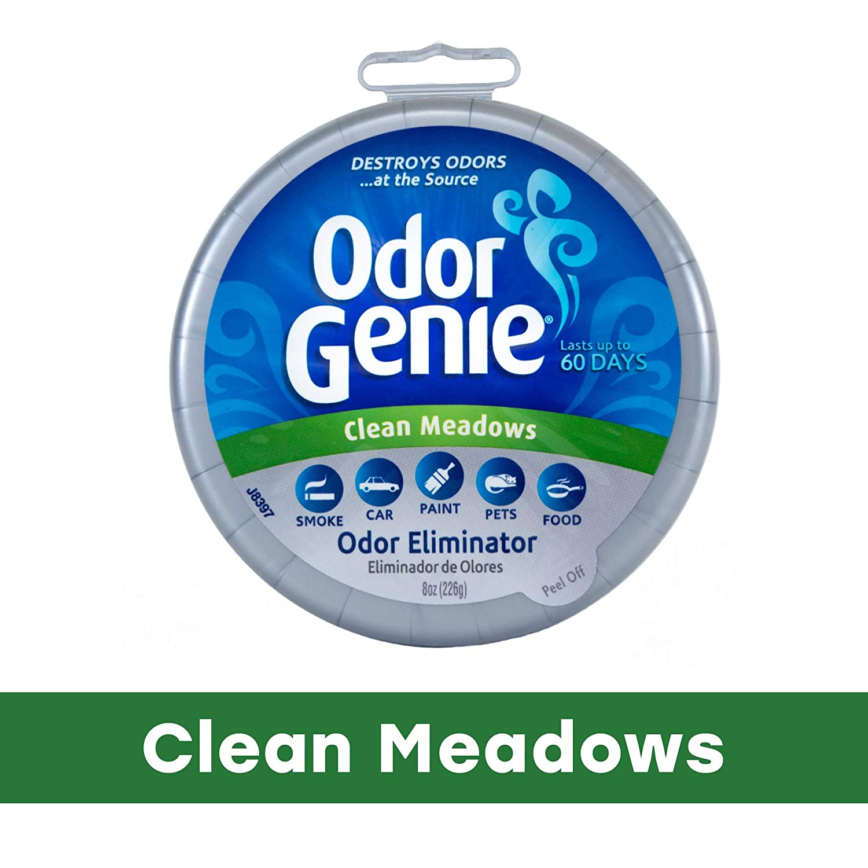 Odor Genie Odor Eliminator, Clean Meadows Fragrance, 8 oz.