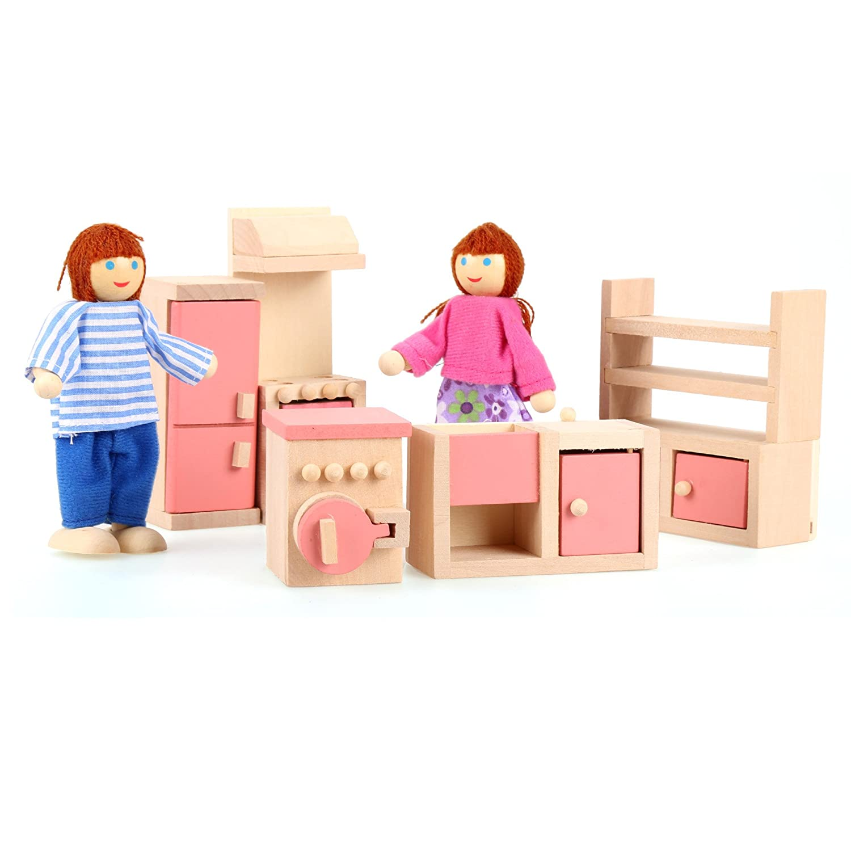 dolls furniture set. Amazon.com: Arshiner Happy Family Doll House Furniture Livingroom Set,Pink: Toys \u0026 Games Dolls Set