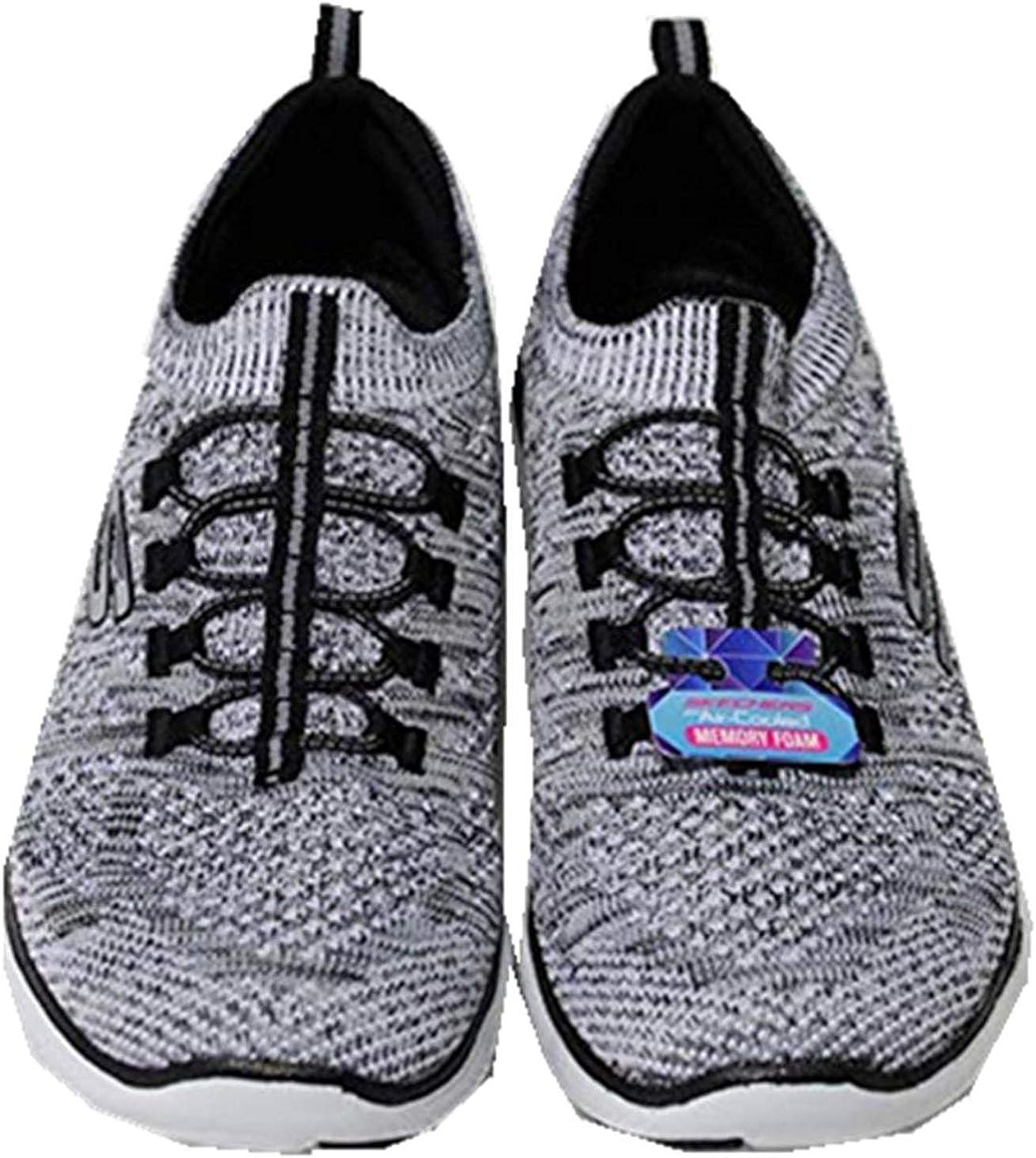 Skechers Ladies Bungee Slip On Shoes