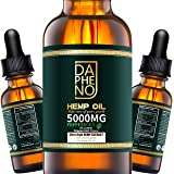 (2 Pack) Hemp Oil 10000mg, Natural Hemp Seed Oil Extract for Anxiety & Stress Relief, Grown & Made in USA, Help with Heart, S