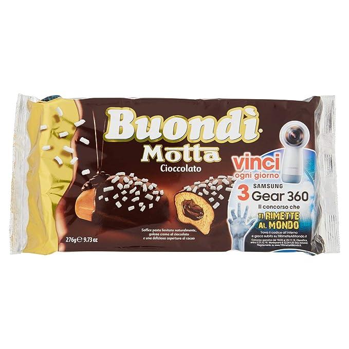 22 opinioni per Buondì- Cioccolato, Prodotto Dolciario da Forno a Lievitazione Naturale con