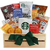 California Delicious Starbucks Daybreak Gourmet Coffee Gift Basket, 5 Pound