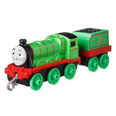 Fisher-Price Thomas & Friends Adventures, Large Push Along Henry: Toys & Games [5Bkhe1203527]