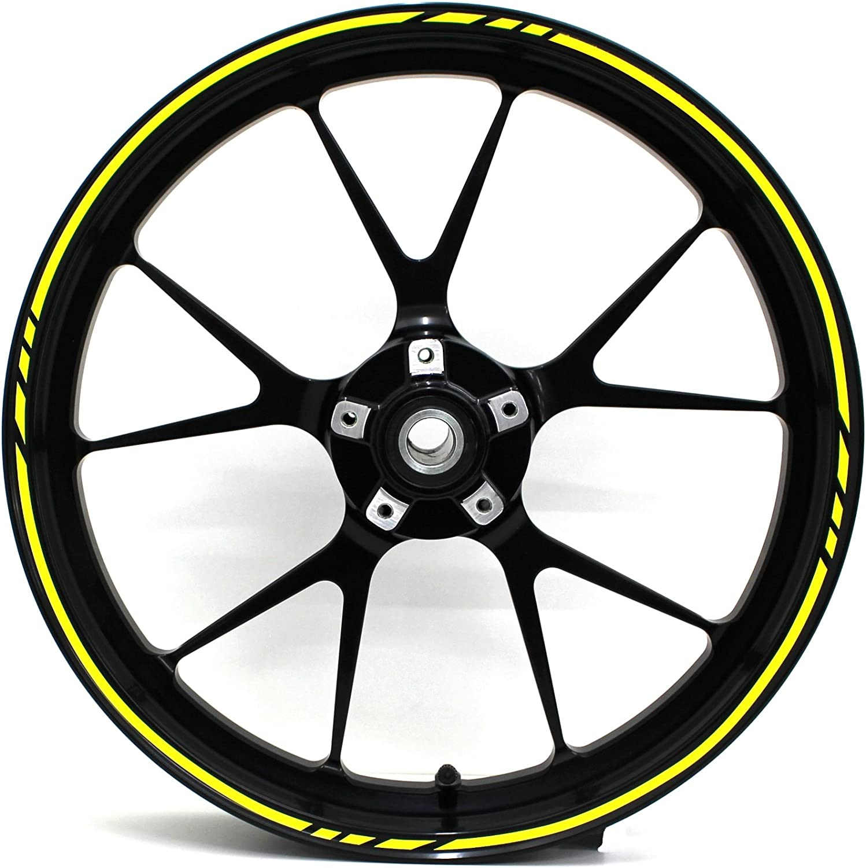 GP design 12/Parts Complete Set Simoni Racing Wheelstripe/ /Finest Folia 19/Wheels Motorcycle Car Bike Bicycle Suitable for 17/inch//16//18