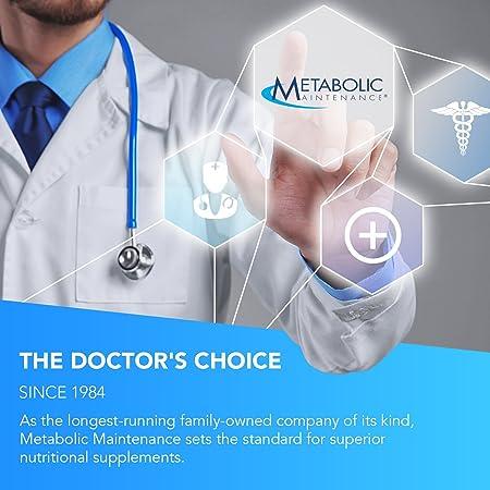 Metabolic Maintenance Metabolic Detox – Milk Thistle, Alpha Lipoic Acid NAC Liver Support 60 Capsules