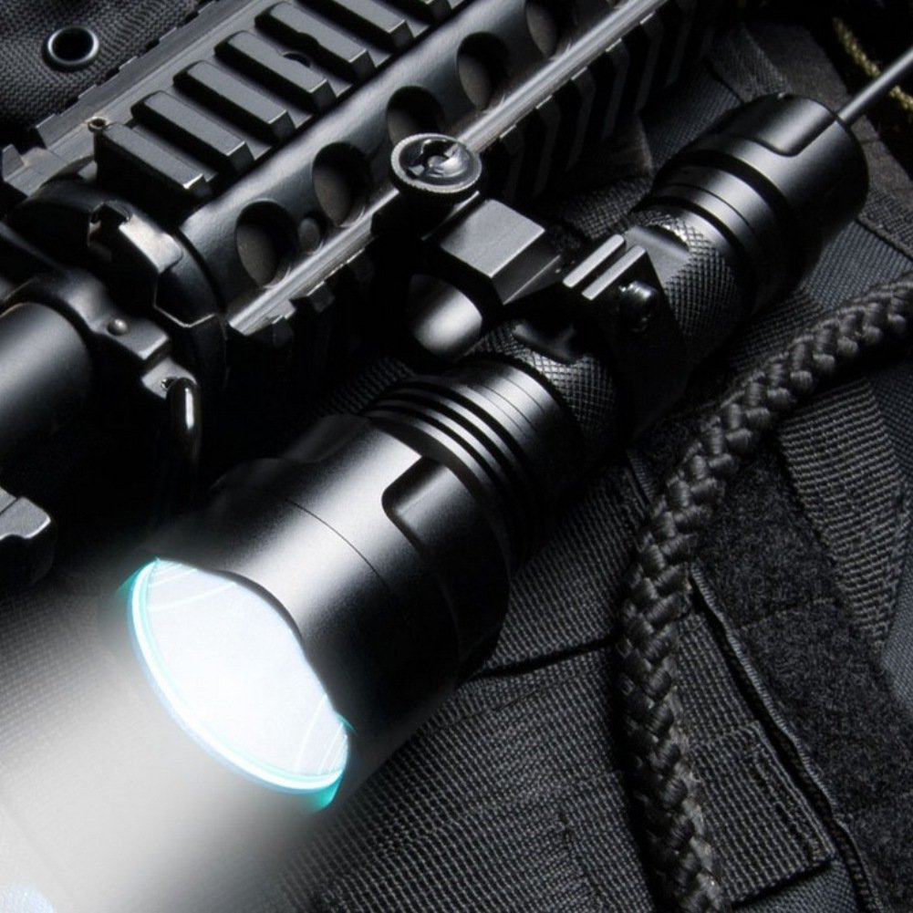 Barska 800 Lumen FLX Flashlight Black BA12196