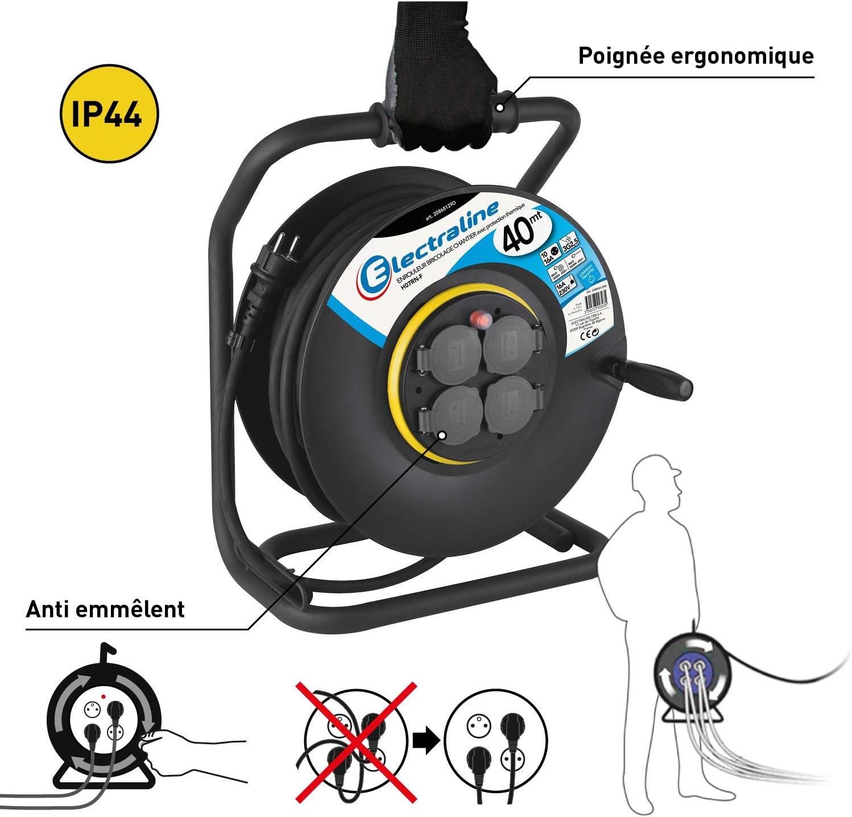 CEE Rallonge 40 m 32a//5p ip44 un câble électrique 5x4mm2 Câble électrique 2612