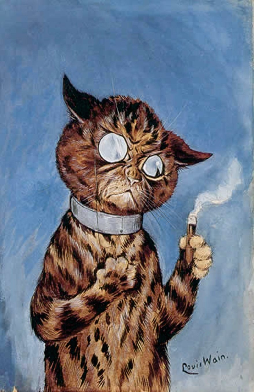 Journal: Cigar Cat: Volume 2 (Louis Wain Cats): Amazon.es ...