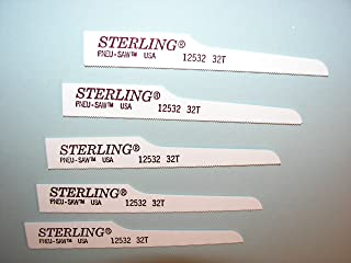 """product image for Sterling Pneumatic Mini Air Saw Blades 5) 3 1/2"""" 32T made in USA"""