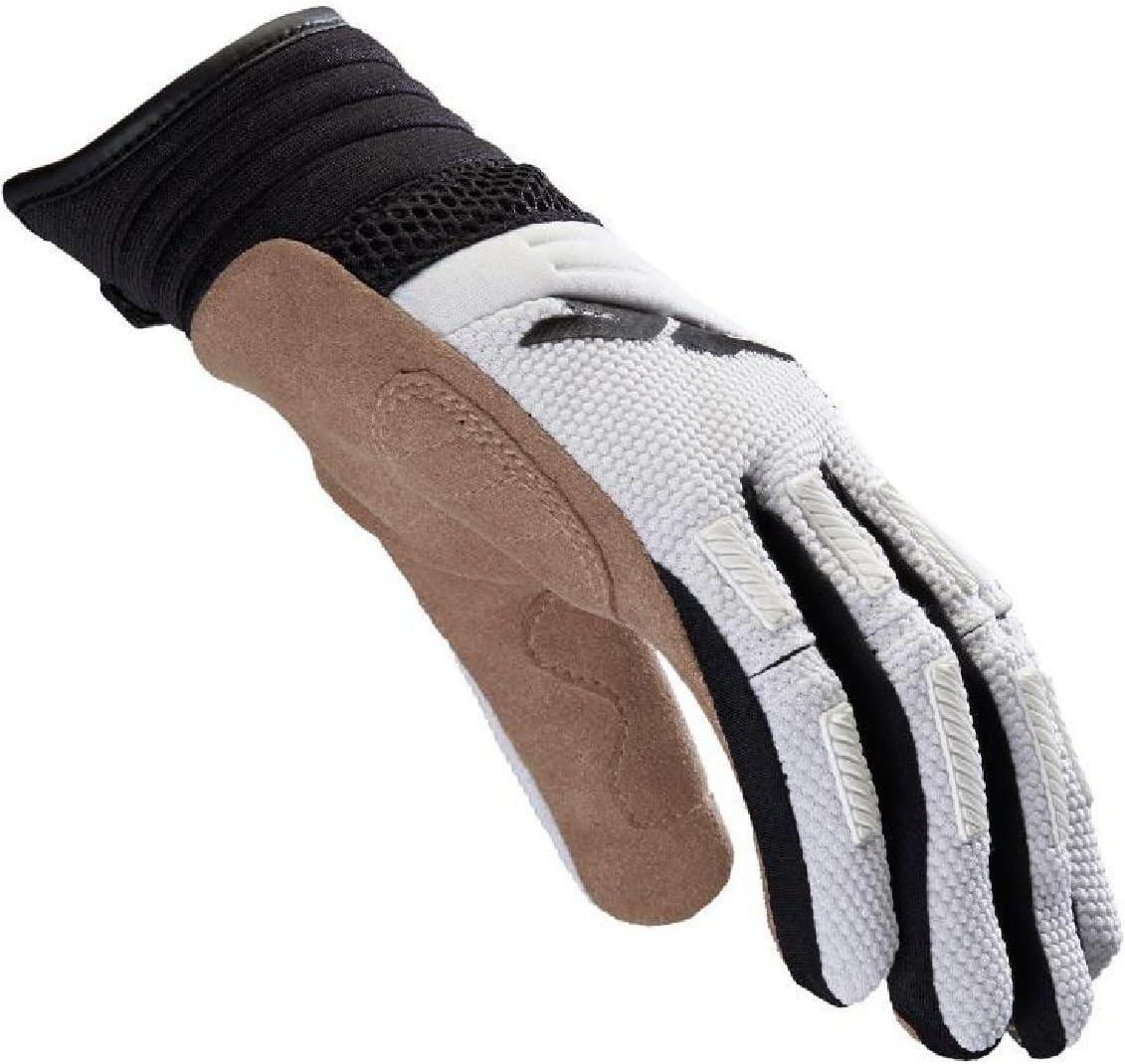 Size M SPIDI Mega-X Motorcycle Gloves Black